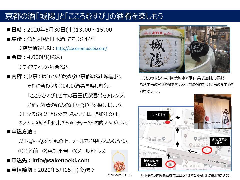 京の日本酒 城陽を楽しもう!