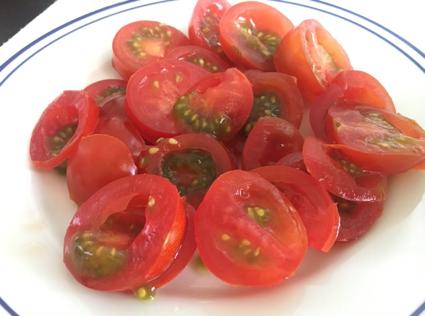 トマトに日本酒